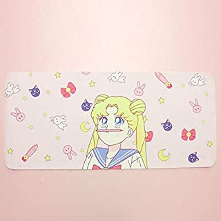 1pc Cartoon Sailor Moon Mouse Pad Keyboard Table mat Lovely Mousepad Figure for Kids Gift