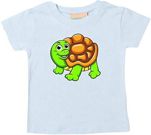 Shirtstown Bébé Kids-T, Tortue Tortue Animal Animal Nature - Marine, 18-24 Monate