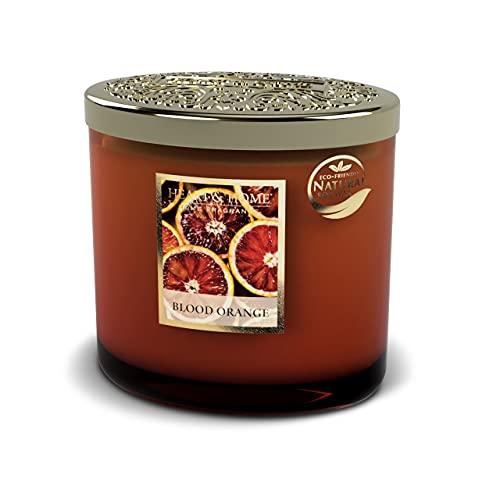 Heart & Home - Vela perfumada con aroma a naranja sanguíneo