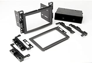 SCOSCHE GM2500B 2005-Up Select GM Double DIN or DIN w/pocket Install Dash Kit,black