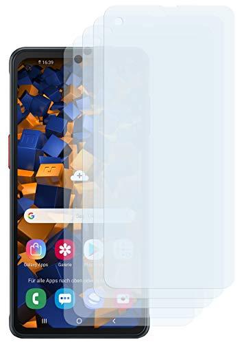 mumbi Schutzfolie kompatibel mit Samsung Galaxy Xcover Pro Folie klar, Bildschirmschutzfolie (5X)