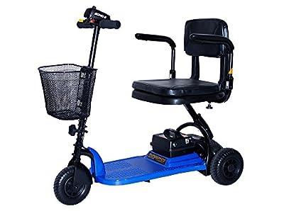Shoprider Echo 3 Wheel Scooter, Blue