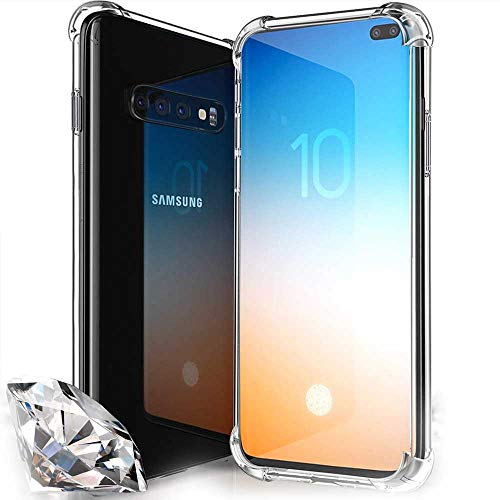 Capa Case Anti Shock Anti Impactos Samsung Galaxy S10 Plus - Transparente