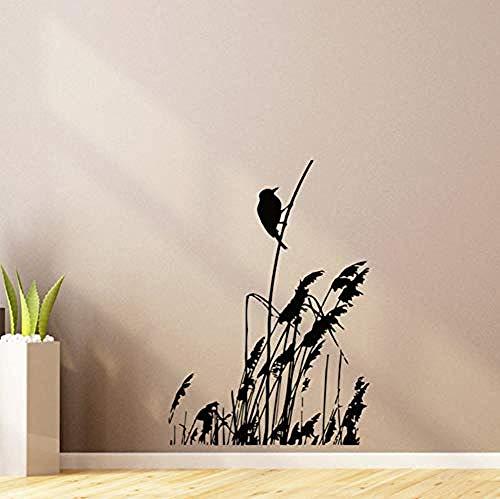 Muursticker Jhping ijsvogel in de wind wandtattoo woonkamer decoratie studie slaapkamer behang afneembare vinyl muursticker