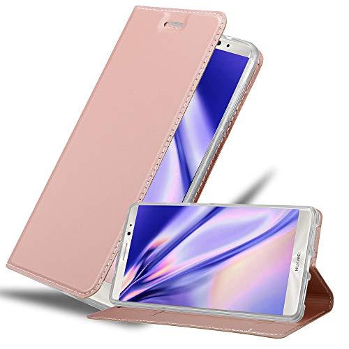 Cadorabo Funda Libro para Huawei Mate 8 en Classy Oro Rosa - Cubierta Proteccíon con Cierre Magnético, Tarjetero y Función de Suporte - Etui Case Cover Carcasa