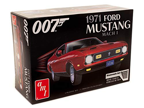 AMT James Bond 1971 Ford Mustang Mach I 1:25 Scale Model Kit -  Round 2, LLC, AMT1187