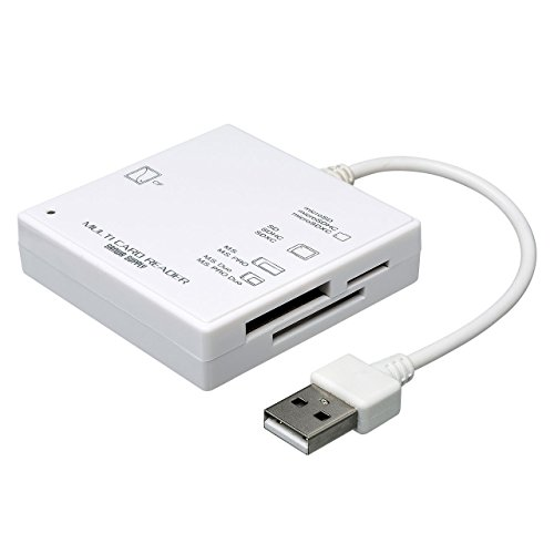 サンワサプライ UB.0 カードリーダー ADR-ML3W 1個