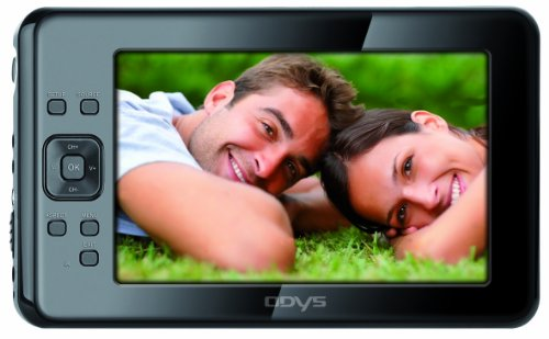 Odys Hype 23 cm (9 Zoll) Tragbarer Fernseher/Multimediaplayer (DVB-T, Kartenslot, USB 2.0) schwarz