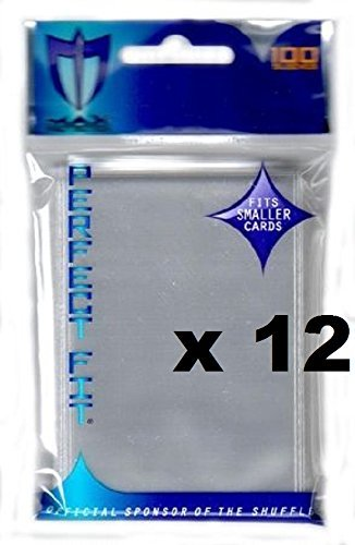 MAX PRO 1200 Small Inner Sleeves for Double SLEEVING (fits Yu-Gi-Oh , Card Fight Vanguard and Other Small Sized Cards)