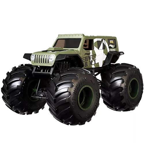 Mattel Hot Wheels Monster Trucks Jeep 1:24