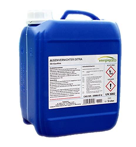 energieprofis 5 L Algenvernichter schaumfrei Algenex Algizid Pool
