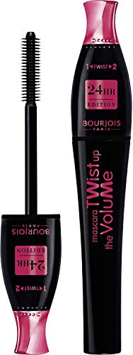 Bourjois, Twist Up The Volume 24h Edition 23 Black 8 ml, Schwarz, 30 g