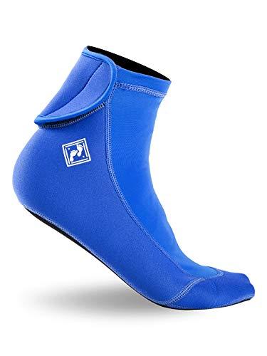 Two Bare Feet Chaussettes Sports nautiques Comfort Flex Bleu Bleu XXL