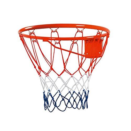 AngelSports Basketballkorb 46cm Basketballring mit Netz