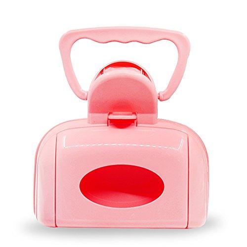8in1 Haustierhund, der KOT verkratzt Plastikschemelwerkzeug,Pink