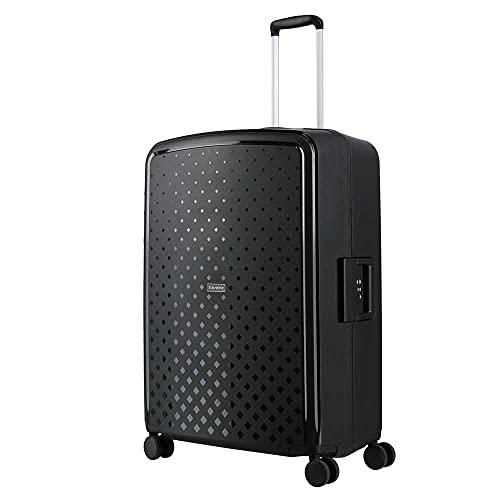 TRAVELITE TERMINAL - Maleta con ruedas (76 cm, con 4 ruedas y candado de combinación TSA), color negro