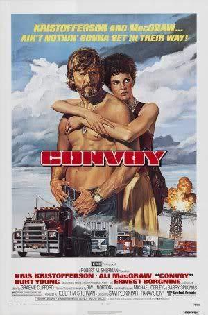 Convoy - Kris Kristofferson – Film Poster Plakat Drucken Bild – 43.2 x 60.7cm Größe Grösse Filmplakat