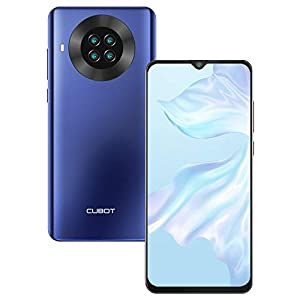 CUBOT Note 20 Smartphone, 6.5 Pollici HD Display, Batteria 4200mAh, Android 10.0, 3GB RAM + 64GB ROM, 4G Cellulare, AI Camera, Dual SIM, NFC, Face ID, Blu