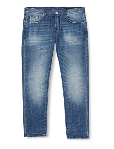 Armani Exchange 6HZJ13 Jeans, Indigo Denim, W28/L32 para Hombre