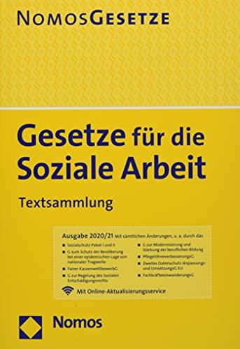 Gesetze für die Soziale Arbeit: Textsammlung - Rechtsstand: 1. August 2020