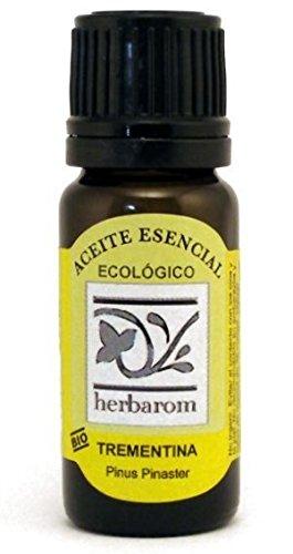 Herbarom Aceite Esencial Bio de Trementina | Aceite Esencial Puro de Trementina, Inmuniestimulante, Antiséptico, Expectorante y Oxigenante Celular, 50 ml