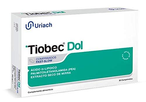 Uriach Medical Tiobec Dol 20Comp. 1 unidad 100 g