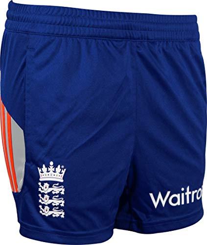 adidas ECB England Cricket-Trainingsshorts für Damen, Blau