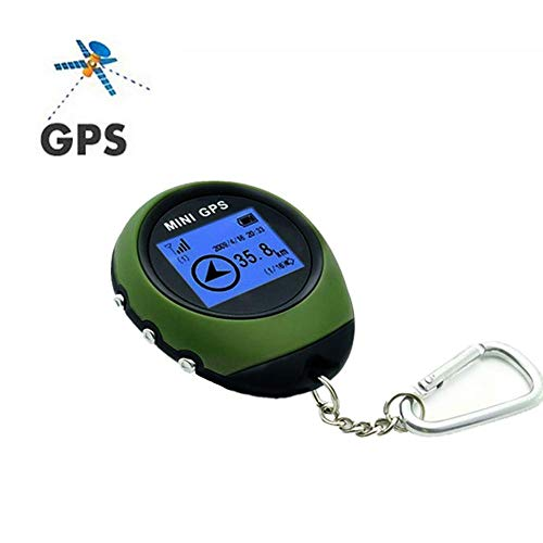Dioche Mini-GPS Tracker, Mini Handheld GPS Navigation Personal Location Finder Empfänger für Outdoor-Sport Reisen
