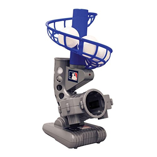 Franklin Sports MLB Electronic Baseball Pitching Machine - Includes Six Plastic Baseballs