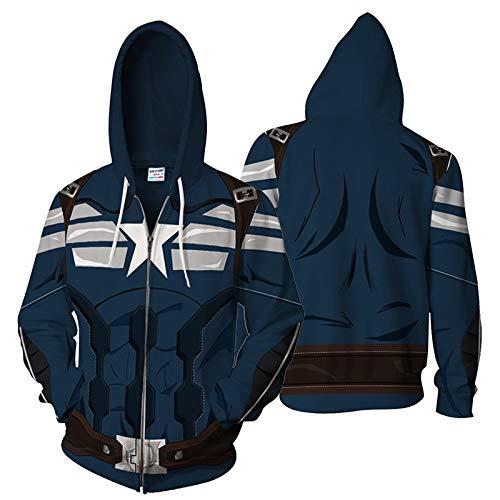 Generic Sweater Pullover Hoodie Europäische und amerikanische Mode Sweatshirt Reißverschluss Strickjacke Hoodie