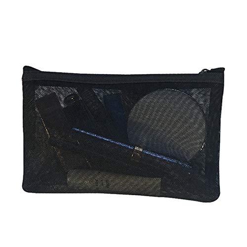 YCBHD Trousse de maquillage transparente pour femme avec fermeture éclair, 2