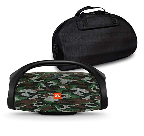%29 OFF! JBL Boombox Portable Bluetooth Waterproof Speaker Bundle with Hardshell Storage Case - Camo...