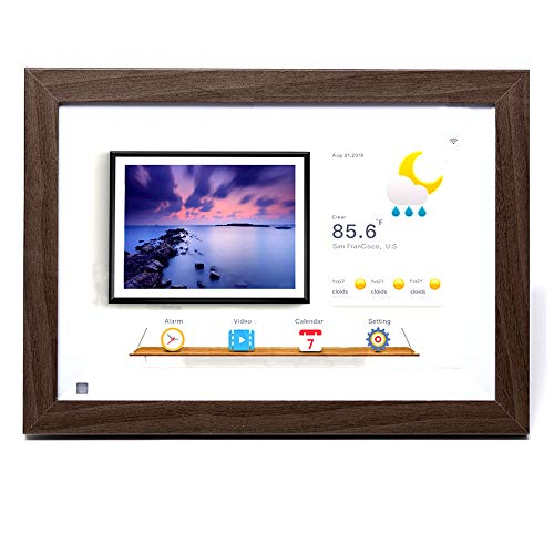 Digital Picture Frames 7 Zoll, 8 Zoll, 10 Zoll Holzrahmen Cloud Fotorahmen, Cloud Fotoalbum, Smart WiFi Touch elektronisches Fotoalbum