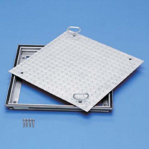 Preisvergleich Produktbild ZARGES Schachtabdeckung Aluminium 600 x 600 mm