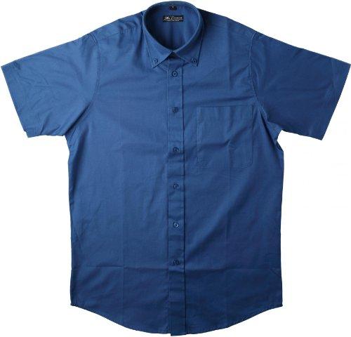 Sol'S Brooklyn - Chemise Homme à Manches Courtes - 100% Coton émérisé pour Un Toucher Doux et agréable - Vert Bouteille - 3XL