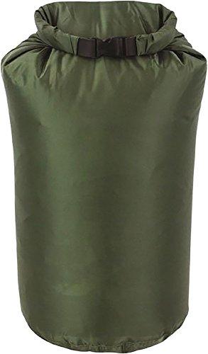 Sac à dos de voyage, style militaire, imperméable en toile Highlander Vert Taille S – XXL (13 litres - 32 x 16 x 16 cm)