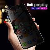 KABIOU Cristal templado antiespía para Samsung A30 A50 A40 A70 A10 A20 A60 A80 para Galaxy M10 M20 M30 Proteger Privacidad Protector de pantalla de vidrio, para Galaxy A40