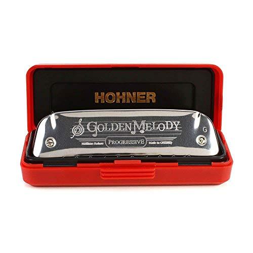 Harmônica Diatônica Hohner Golden Melody G (sol) Gaita de Boca M542086