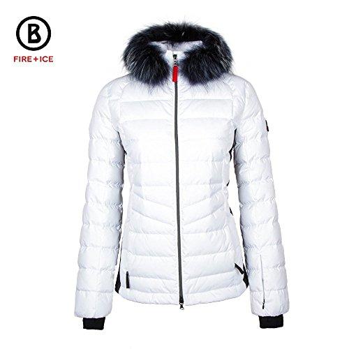Bogner Fire + Ice Damen Skijacke Belen-D, weiß, 34