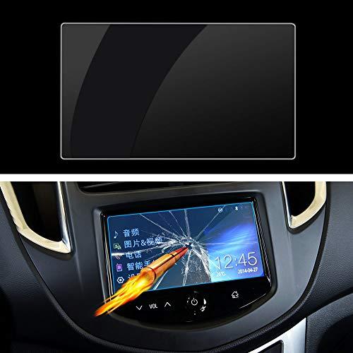 LUVCARPB Protecteur d'écran de Navigation de Voiture, adapté pour Chevrolet Trax 2014-2018, Protection Transparente d'affichage en Verre trempé 9H