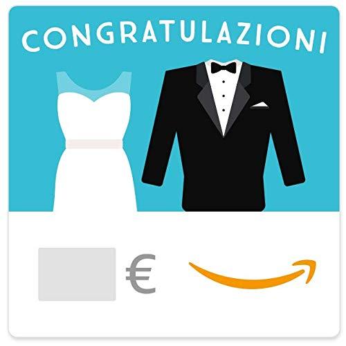 Buono Regalo Amazon.it - Digitale - Congratulazioni - Abiti da matrimonio