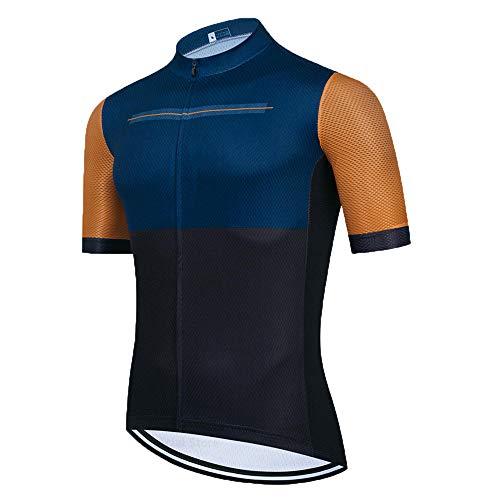 HXTSWGS Ropa Ciclismo Verano para Hombre Ciclismo Maillot,El Mejor Equipo de Ciclismo para Hombre, Camiseta de Manga Corta, Jersey de Ciclismo, Cubierta de Bicicleta de Carretera de verano-A20_4XL