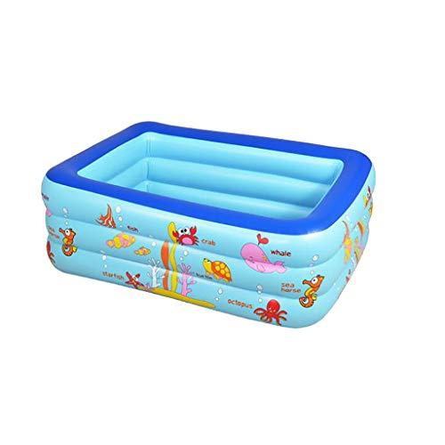 BIBOKAOKE - Piscina hinchable para adultos, piscina infantil, para jardín y exterior, piscina infantil, para fiestas de verano