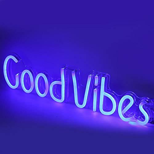 Demeras Wanddekoration Neon Sign Neonlicht Einfach für die Inneneinrichtung