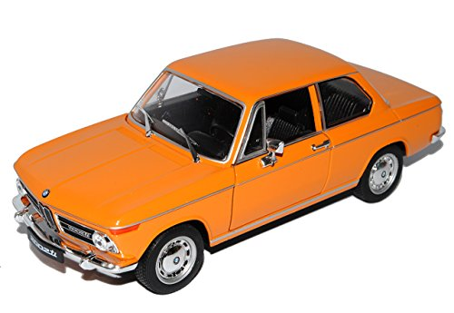 B-M-W 2002ti Coupe Orange 1966-1977 1/24 Welly Modell Auto