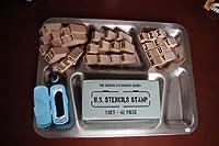 【新発売】ステンシル スタンプ / STENCIL STAMP [インク付き]世田谷ベース