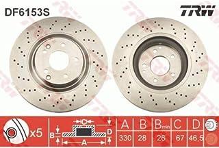 Valeo Discos de Freno x2 197047