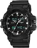 PKLG Reloj deportivo multifuncional luminoso al aire libre, relojes...