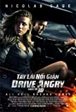 Drive Angry - Nicolas CAGE - Vietnamese – Film Poster