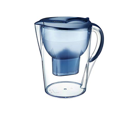 Water Filter Kettle, Efficient Filtering onthard water Purifier 3.5L grote capaciteit Een Core geschikt voor keuken of kantoor,Blue